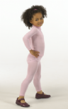 Seamless Base Layers - Long Leggings - Skinnies Silk Child from